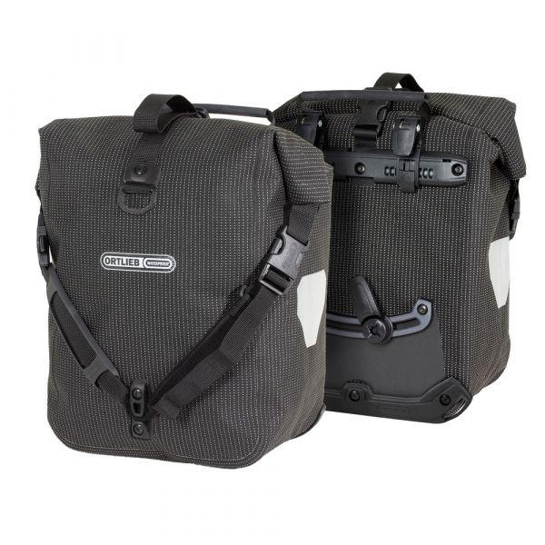 Ortlieb Sport Roller High Visibility, 2 x 12,5l. reflex black
