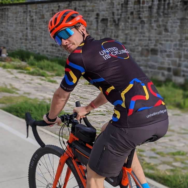 United In Cycling Trikot, Männer