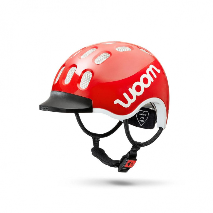 Woom KIDS Helm red / L