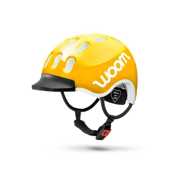 Woom KIDS Helm sunny yellow / L