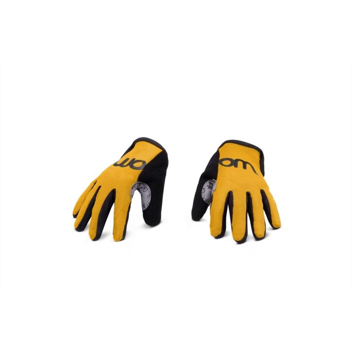Woom TENS Radhandschuhe sunny yellow / 5