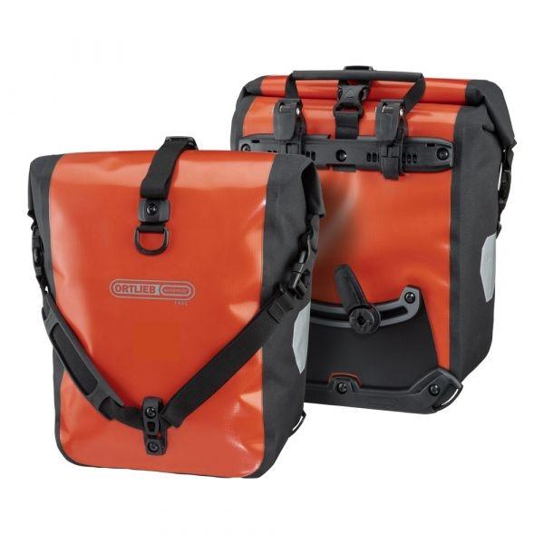 Ortlieb Sport Roller Free, 2 x 12,5l. rust - black
