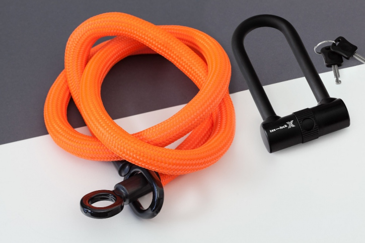 tex-lock eyelet orange / L (160cm) + X-Lock
