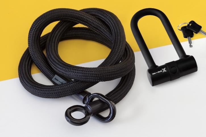 tex-lock eyelet schwarz / L (160cm) + X-Lock