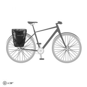 Ortlieb Back-Roller Free, 2 x 20 l. black