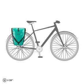 Ortlieb Back-Roller Free, 2 x 20 l. lagoon - black