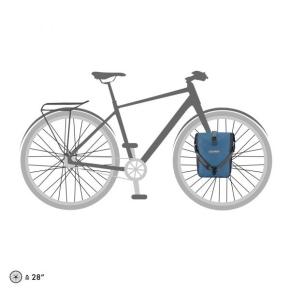 Ortlieb Sport Roller Plus, 2 x 12,5 l. denim - steel blue
