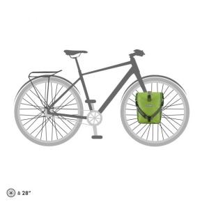 Ortlieb Sport Roller Plus, 2 x 12,5 l. lime - moss green